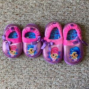 Other - 🌻2/$15 or 3/$25 Kids Shimmer & Shine Slippers